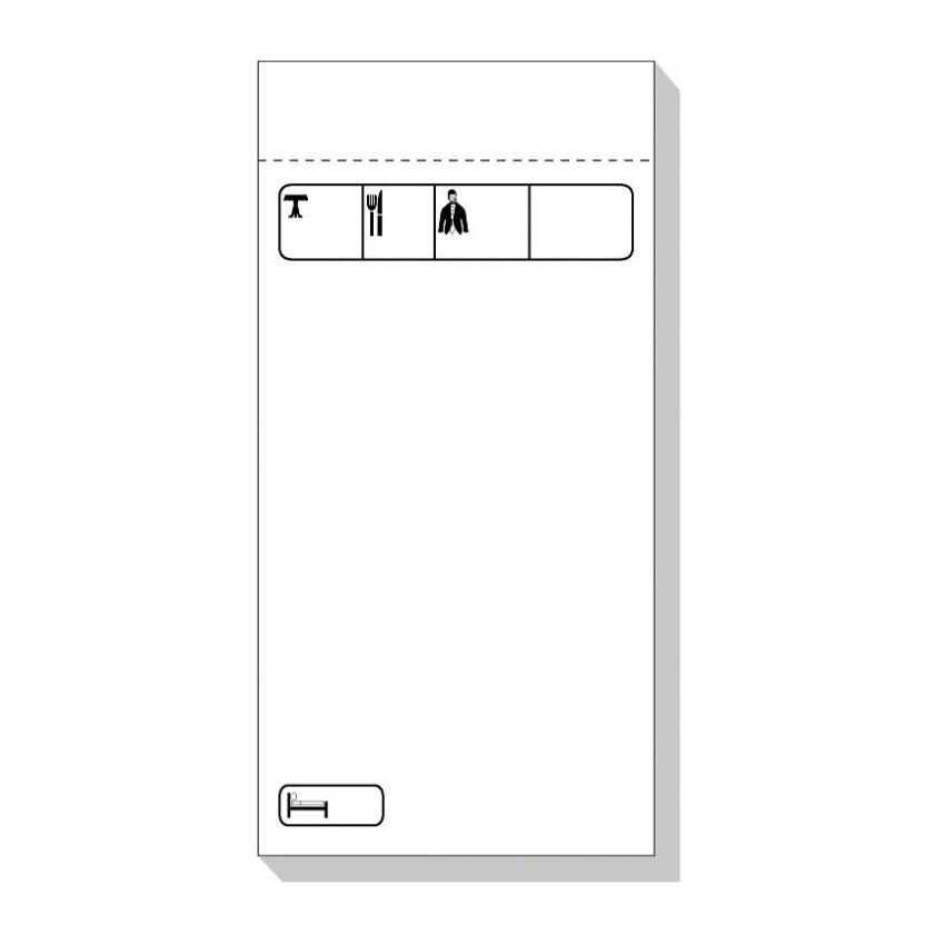Très Blocs et carnets : Commande et Addition au Restaurant   AZ Fournitures ON29