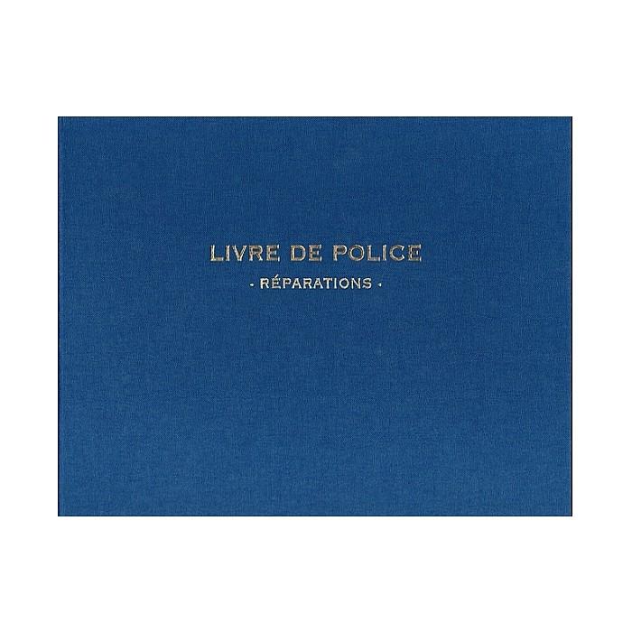 registre garagiste livre de police pour v hicules d 39 occasion az fournitures. Black Bedroom Furniture Sets. Home Design Ideas