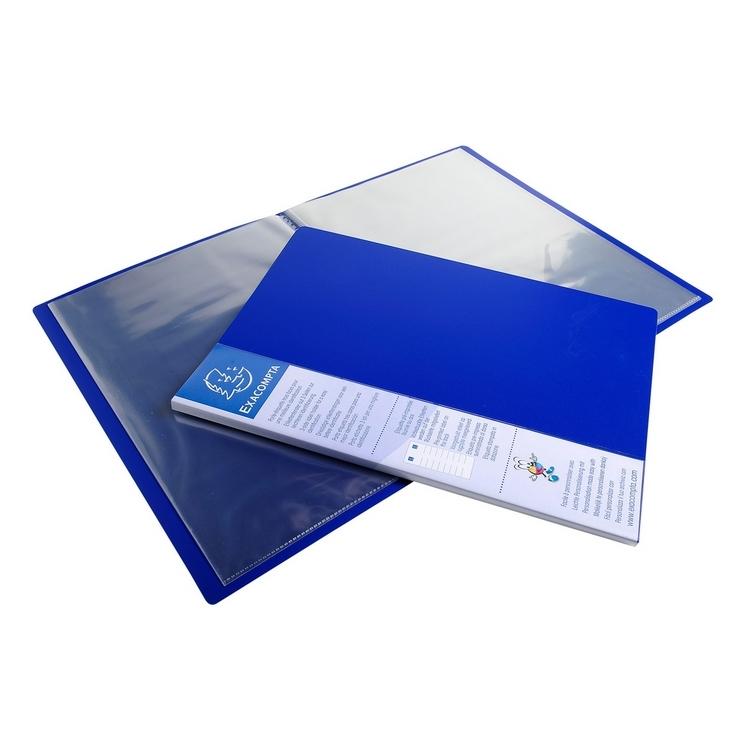 Portes vues avec pochettes transparentes az fournitures for Porte vue 60 pochettes