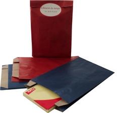 pochette d 39 emballage en papier 240 x 410 mm kraft bleu agipa lot de 250 az fournitures. Black Bedroom Furniture Sets. Home Design Ideas
