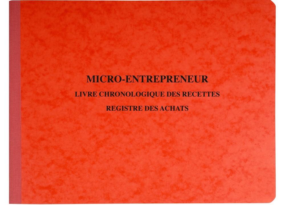 Auto Entrepreneur Registre Des Recettes Et Achats 4410E EXACOMPTA