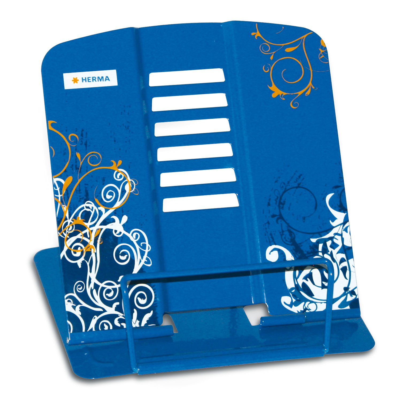pupitre de lecture spirit bleu porte livres ou. Black Bedroom Furniture Sets. Home Design Ideas