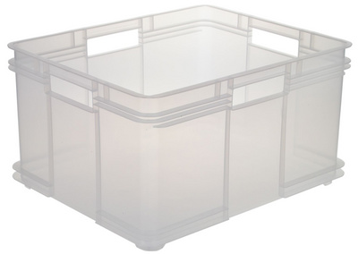 grand bac de rangement robuste 54 litres euro box xxl ok 1539900100000 az fournitures. Black Bedroom Furniture Sets. Home Design Ideas