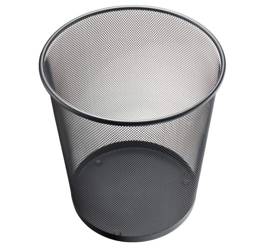 11 litres Petite Poubelle en Maille en m/étal Corbeille /à Papier Fer Net Nettoyage Poubelle Poubelle Ronde Baril Poubelle #Pennytupu